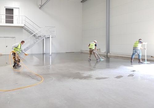 H and H Maintenance Ltd commercial building maintenance warehouse renovation