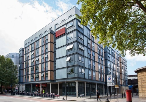 Commercial building maintenance student block in London