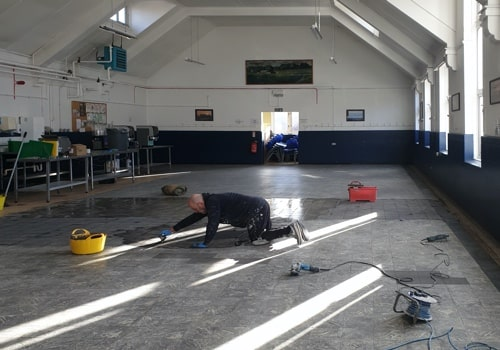 H and H Maintenance Ltd commercial building maintenance canteen floor repairing