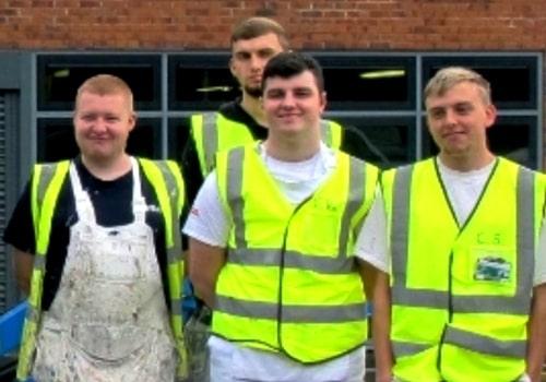 H and H Maintenance Ltd commercial building maintenance team